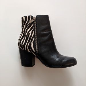 Michael Kors silvy animal print boots